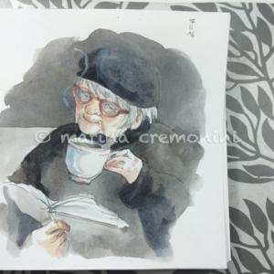 tasting tea
